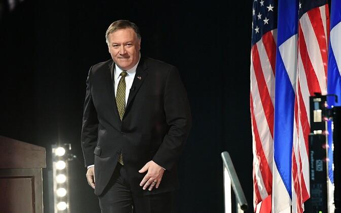Госсекретарь США Майк Помпео на Арктическом совете.
