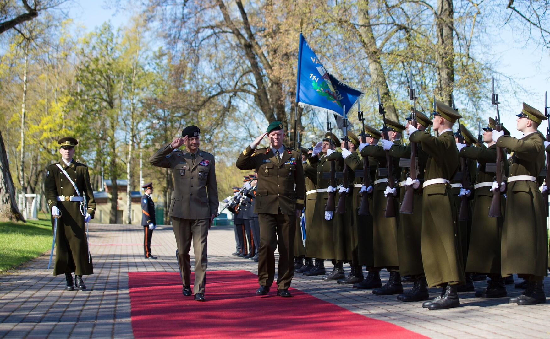 c276c44f Rajmund T. Andrzejczak arriving Chief of Staff of Poland's defense forces  Lieut. Gen. Rajmund T. Andrzejczak arriving ...