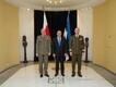 Chief of Staff of Poland's defense forces Lieut. Gen. Rajmund T. Andrzejczak arriving in Estonia Monday.