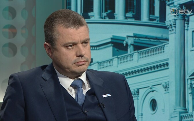 Minister of Foreign Affairs Urmas Reinsalu (Isamaa) on ETV's