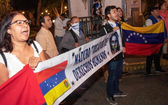 Venezuela meeleavaldajad
