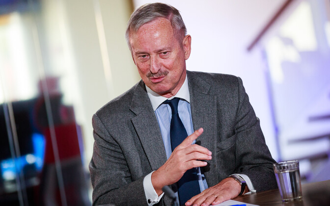 Reform Party honorary chairman Siim Kallas.