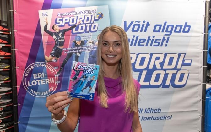 esti Loto ja Eesti Olümpiakomitee esitlesid uut kiirloteriid Spordiloto.