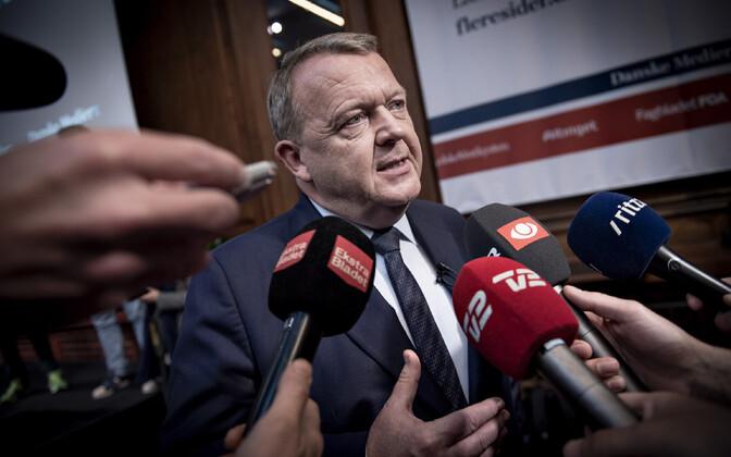 Taani peaminister Lars Lokke Rasmussen.