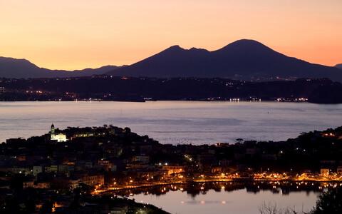 Campi Flegrei vulkaan.