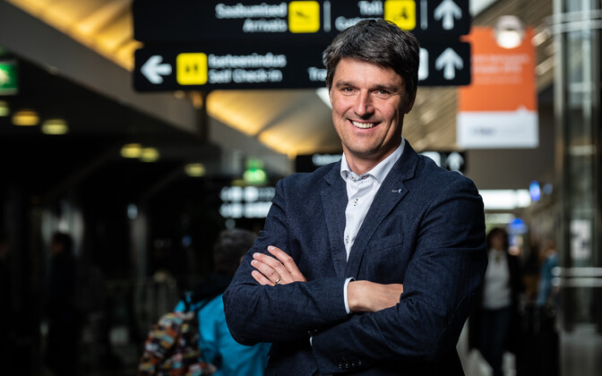 Newly-appointed Tallinn Airport CEO Riivo Tuvike.