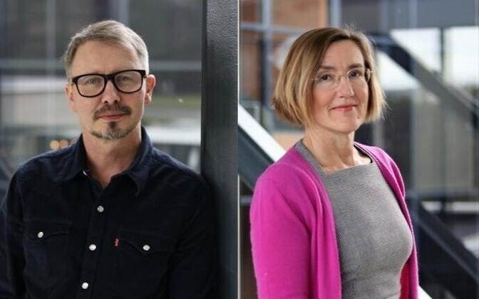 Tanel Kerikmäe ja Katrin Merike Nyman-Metcalf