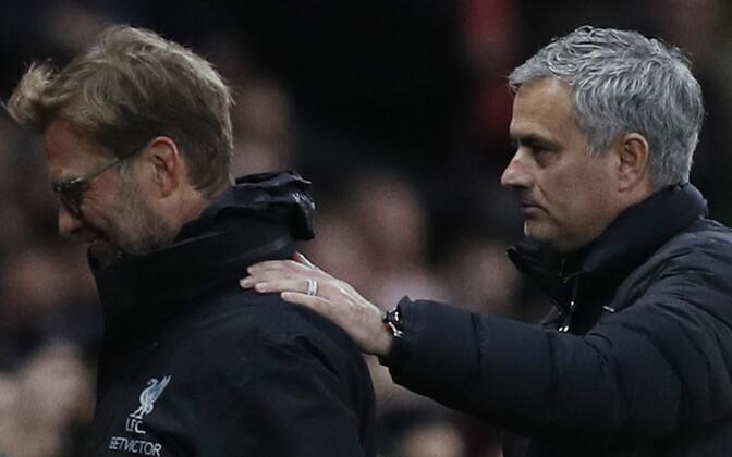 Jürgen Klopp ja Jose Mourinho