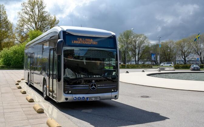 Электробус Mercedes-Benz eCitaro.