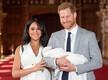 Sussexi hertsoginna Meghan ja prints Harry vastsündinud pojaga