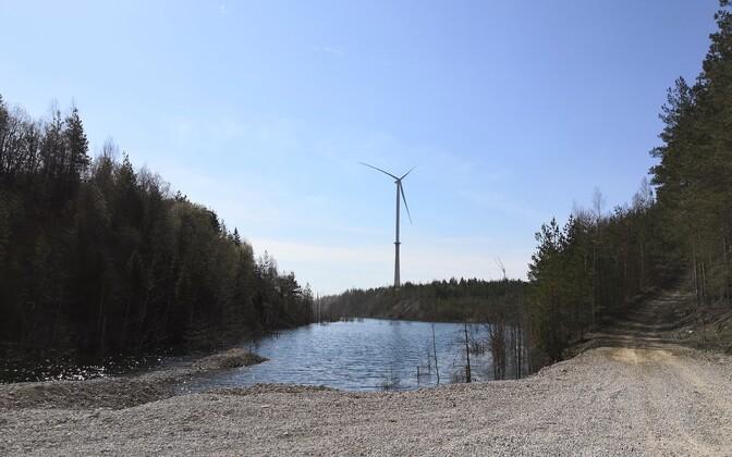 Несмотря на предписание Департамента по защите прав потребителя и техническому надзору строительные работы в Айдуском ветряном парке прекратились не сразу.