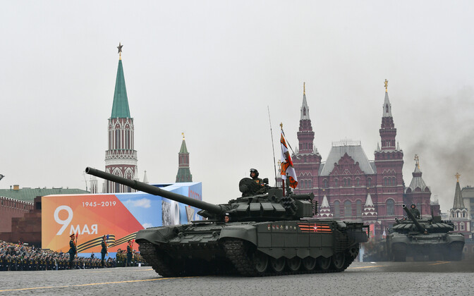 Victory Day parade in Moscow's Red Square.