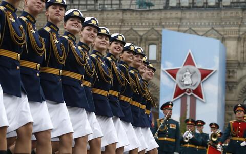 На Красной площади прошел парад.