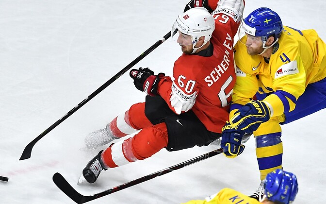 2018. aasta jäähoki MM-finaal Šveits - Rootsi