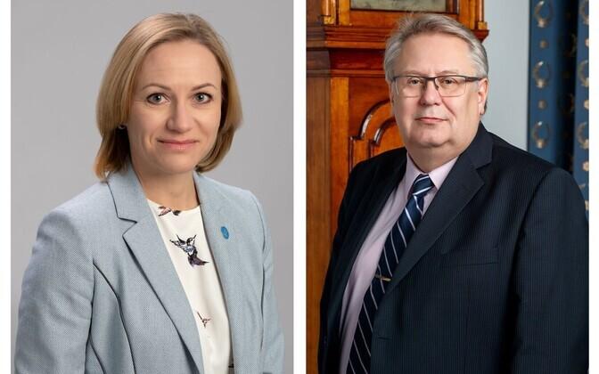 Kstina Vallimäe ja Kalle Hein