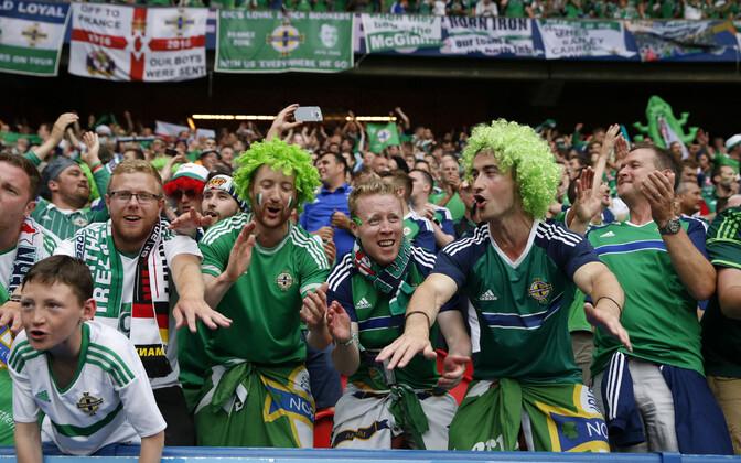 Põhja-Iirimaa jalgpallikoondise fännid