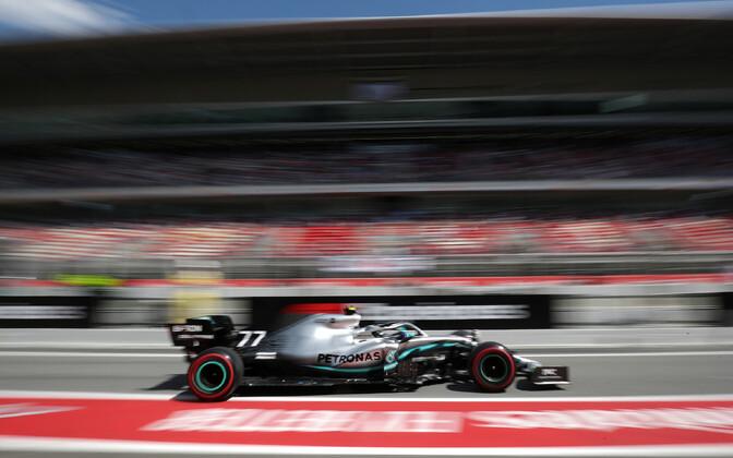 Valtteri Bottas Hispaania GP-l
