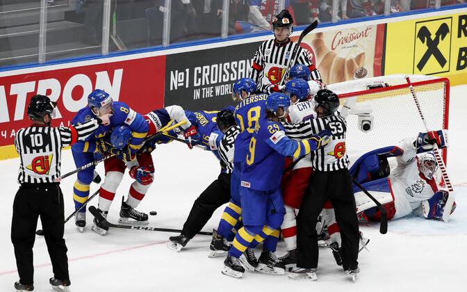 Jäähoki MM: Tšehhi - Rootsi