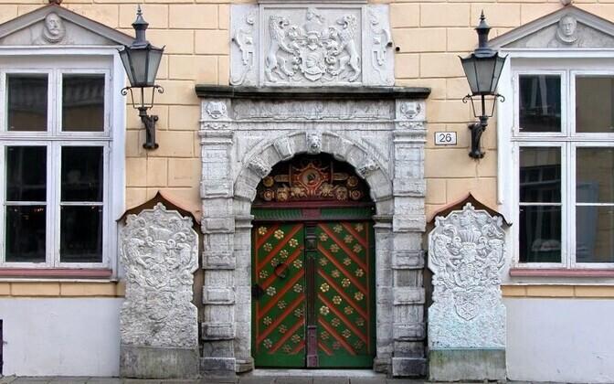 Дом братства черноголовых в Таллинне примет правых коныерваторов.
