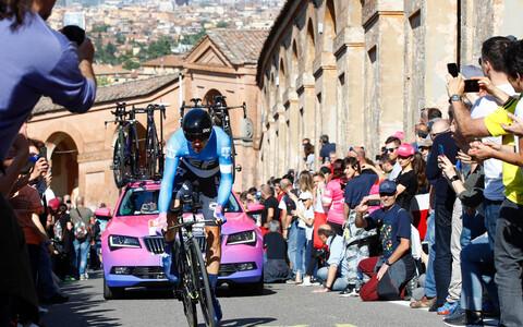 Tanel Kangert Itaalia velotuuri avaetapi temposõidus
