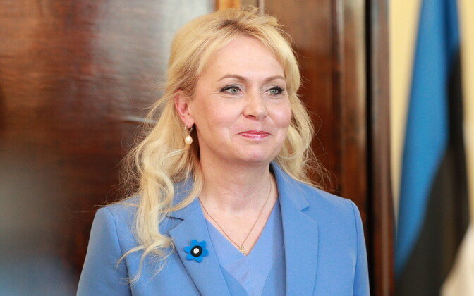 Population Minister Riina Solman (Isamaa).