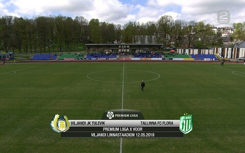 Viljandi JK Tulevik - Tallinna FC Flora