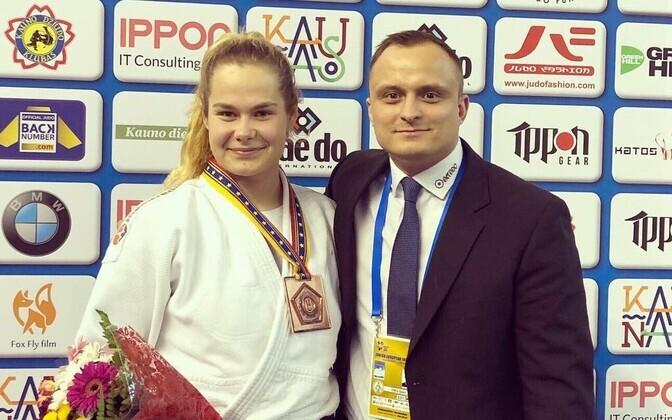 Annika Karilaid treener Geln Viksiga