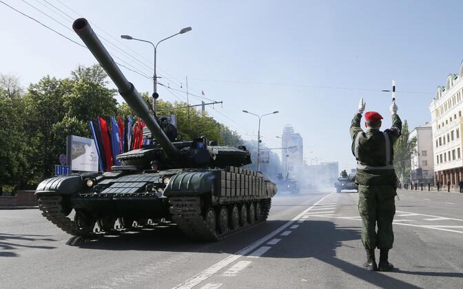 Paraad Donetskis 9. mail.