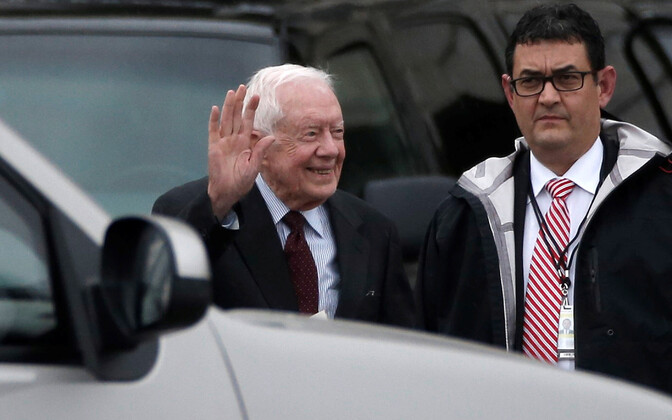Ekspresident Carter 2017. aastal.