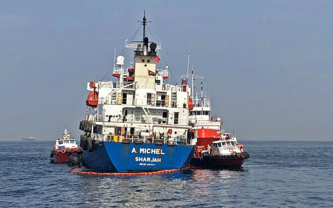 AÜE tanker A. Michel Pärsia lahel.