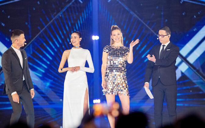 Eurovisiooni esimese poolfinaali peaproov, saatejuhid