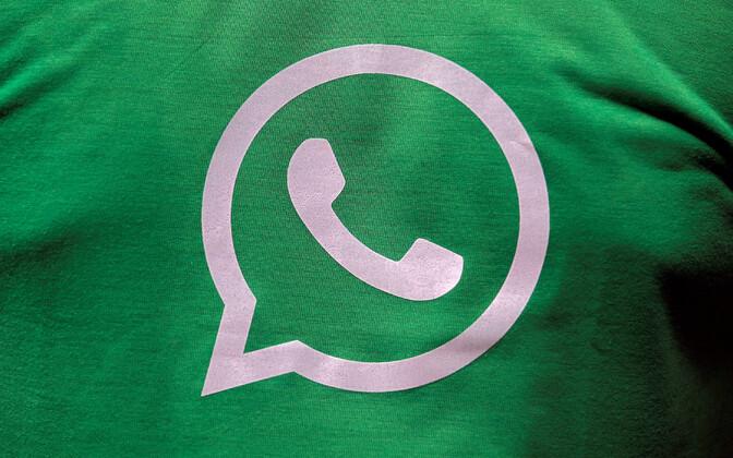 WhatsAppi logo.