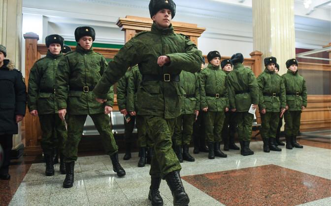 Vene ajateenijad, arhiivifoto.