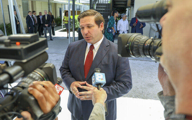 Florida osariigi vabariiklasest kuberner Ron DeSantis.