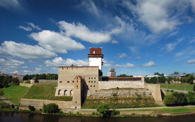 Hermann Castle in Narva, Estonia's easternmost city.