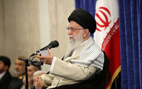 Лидер Ирана Али Хаменеи.