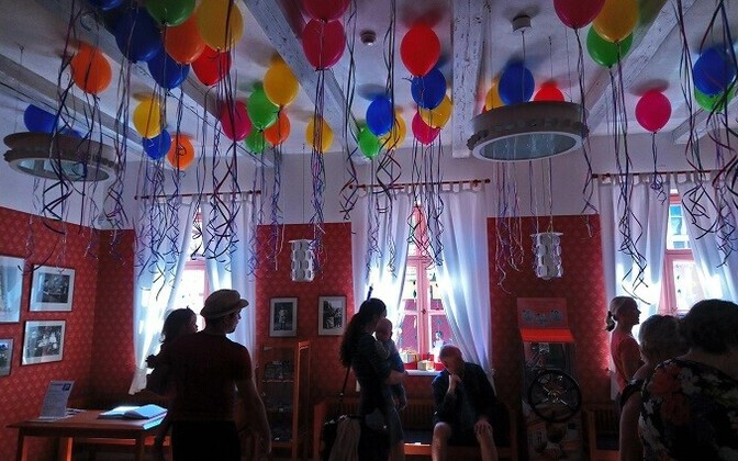 Mänguasjamuuseumi sünnipäev.