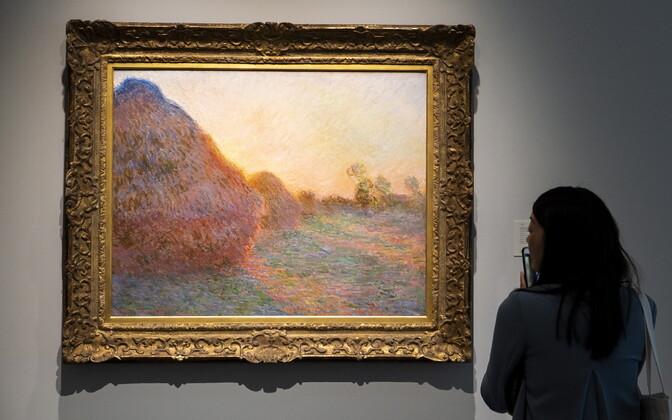 Rekordilise hinnaga müüdud Claude Monet' teos