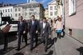 День Таллинна открылся встречей Михаила Кылварта и Юри Ратаса.