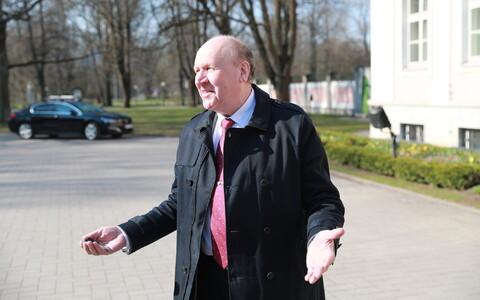 EKRE leader and interior minister Mart Helme.
