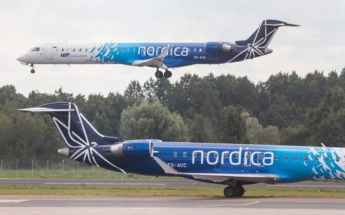 Летом предприятие Nordica будет осуществлять прямые авиаперевозки лишь по 13 направлениям.