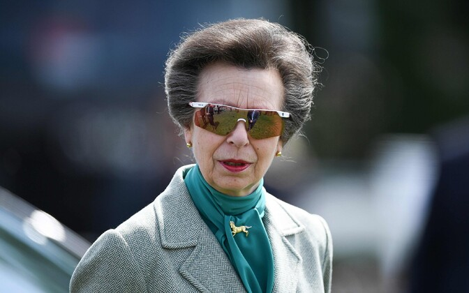 HRH Anne, Princess Royal.