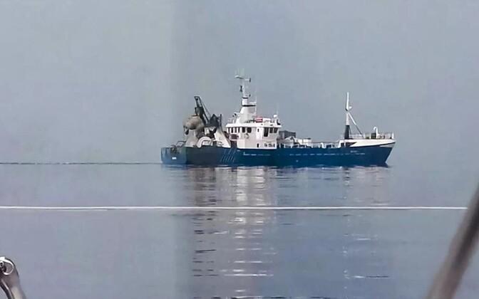 Рыболовецкое судно Roxen.