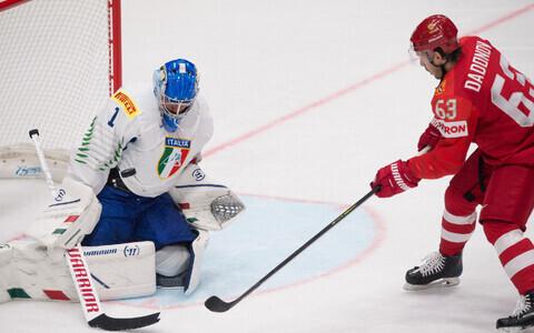 Сборная России забила 10 шайб в ворота итальянцев.