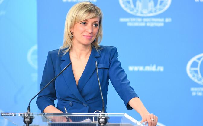 Официальный представитель российского МИДа Мария Захарова.
