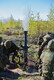 Kevadtormi lahinglaskmistel paukusid suurtükid, miinipildujad ja raketid.