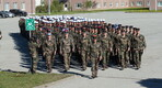 French troops formally took over for the outgoing Belgian unit serving at Tapa Army Base as part of NATO Battlegroup Estonia. May 16, 2019.