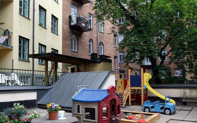 Stockholmi Eesti Majas tegutseb ka lasteaed.