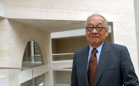 Arhitekt Ieoh Ming Pei (1917-2019).