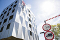 Uue hotelli ehitus Juhkentali tänaval